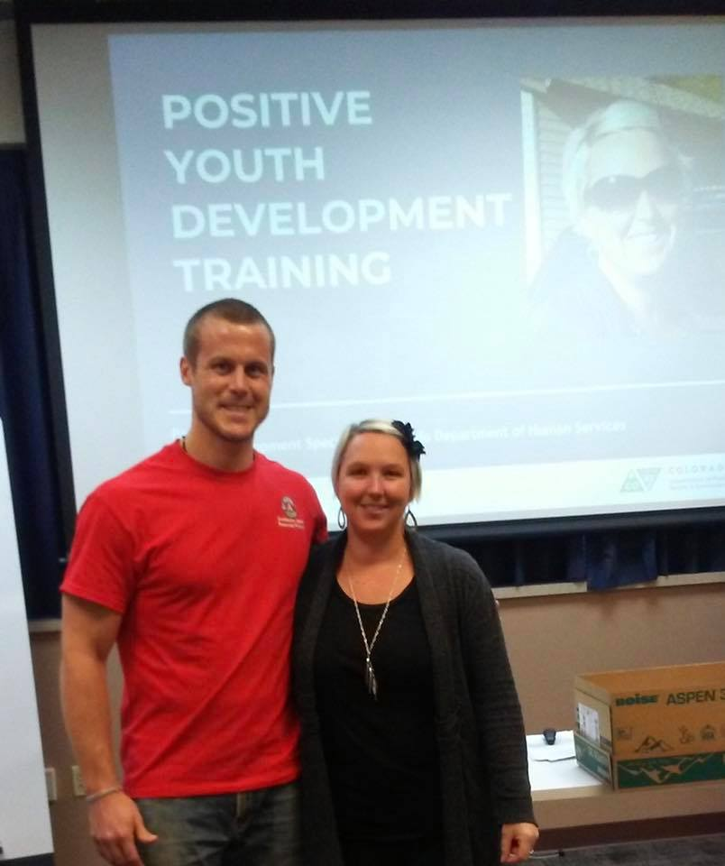 AmeriCorps Member Seth at Positive Youth Development Training